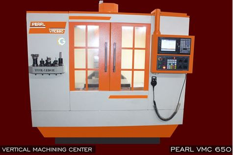 Picture of VMC (Vertical Machining Center)